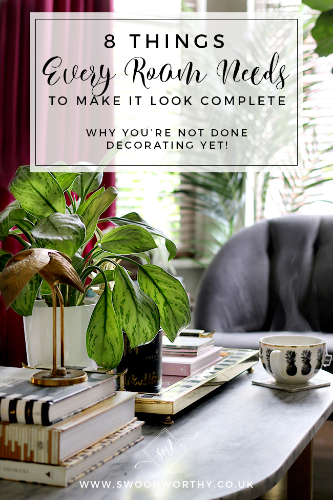 8 Things Every Room Needs to Make It look Complete