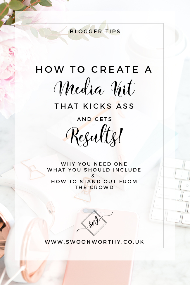 Are you a blogger that wants to find out how to create a media kit that gets results? Check out my tips on WHY you need one and WHAT to include!