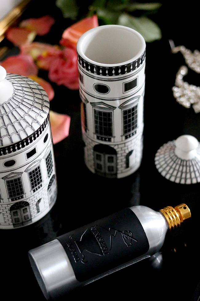 Fornasetti Architettura Scented Candle and room spray
