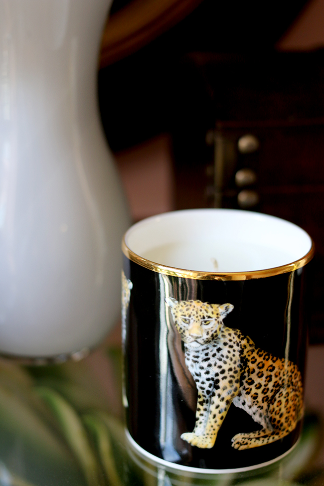 Halcyon Days Leopard Jasmine Scented Candle