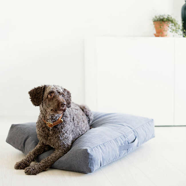 Kind_for_dogs_ denim pet bed