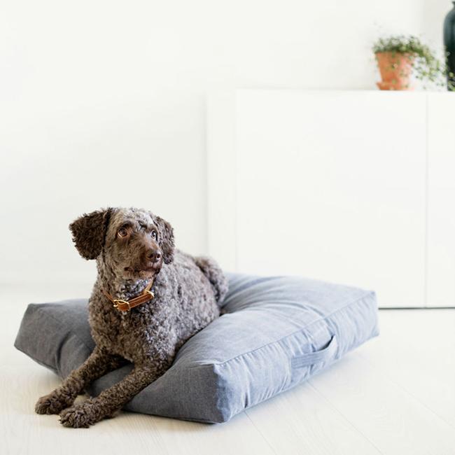 Kind_for_dogs_ denim pet bed