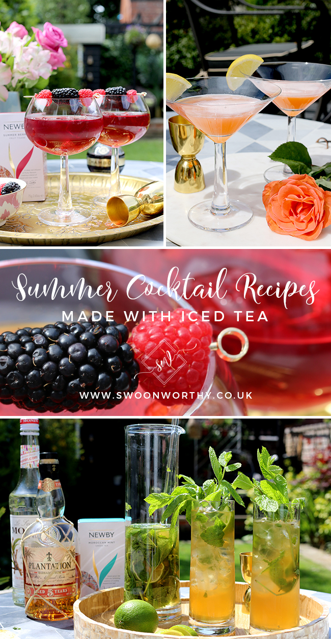 Summer Cocktail Recipes Made with Iced Tea