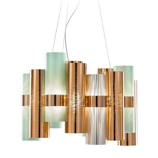 Urban Avenue green and copper light fixture