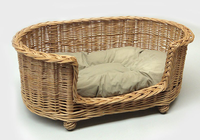 wayfair pet bed basket