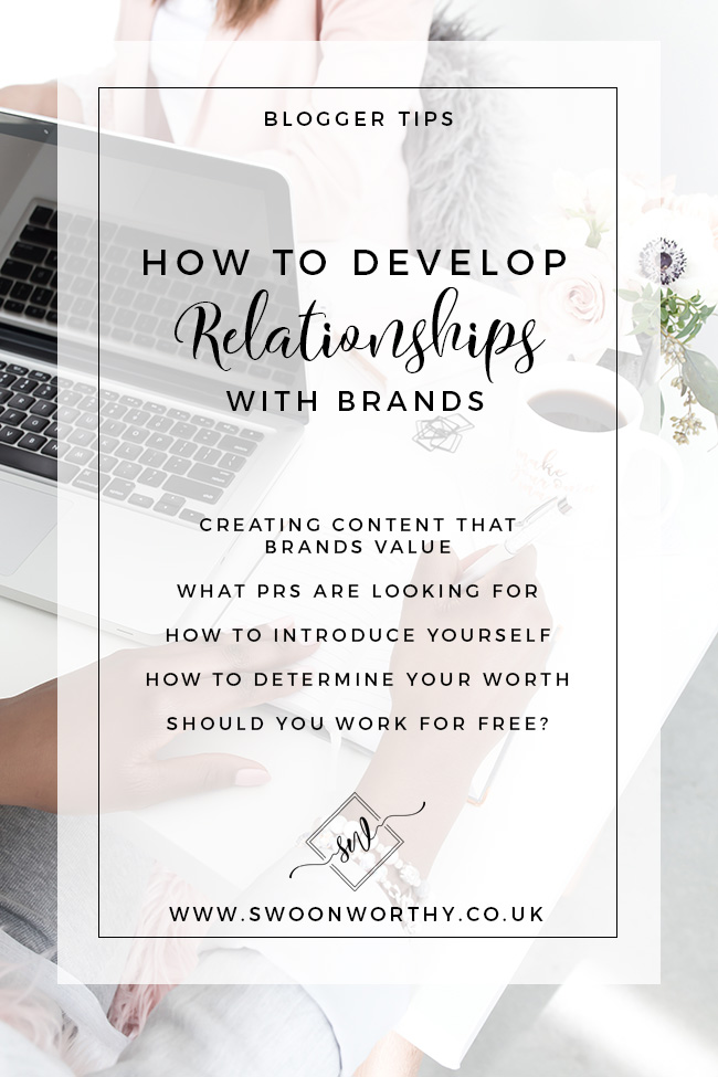 How to Develop Relationships with Brands