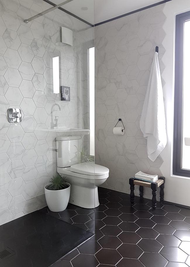 Loft bathroom making spaces