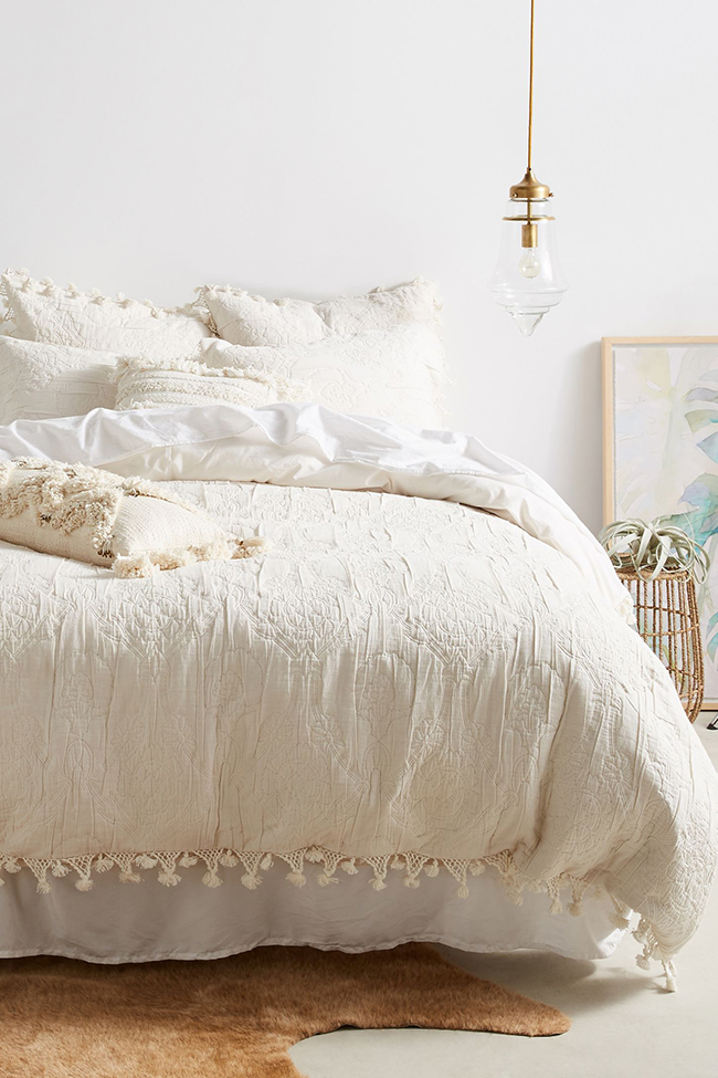 Oleada Duvet cover by Anthropologie
