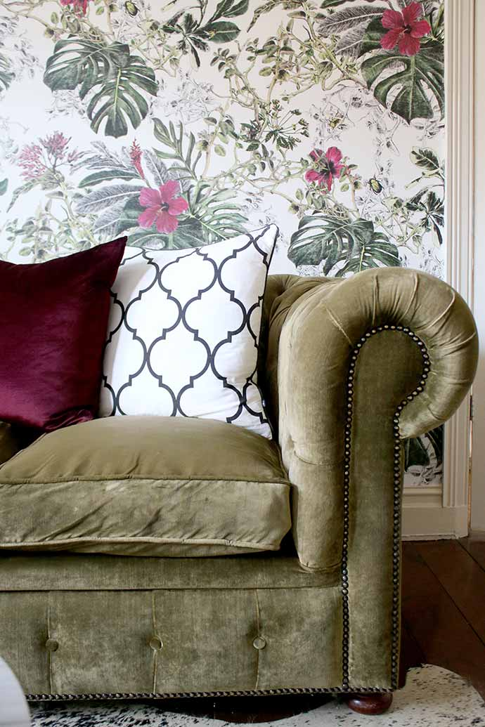 Olive-green-velvet-sofa-Swoon-Worhty