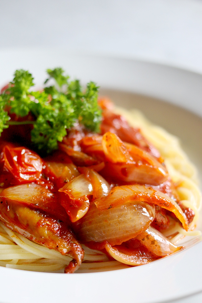 For a delicious gluten-free dish give my delcious smoked mackerel and chorizo pasta a try!