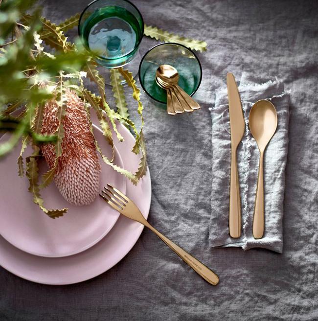 ikea-tillagd-24-piece-cutlery-set-brass-2