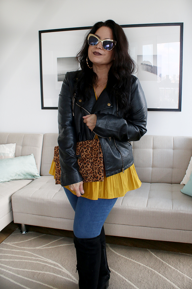 I'm asking whether you can you be a successful curvy fashion blogger when you are also a short, latina 40 something!