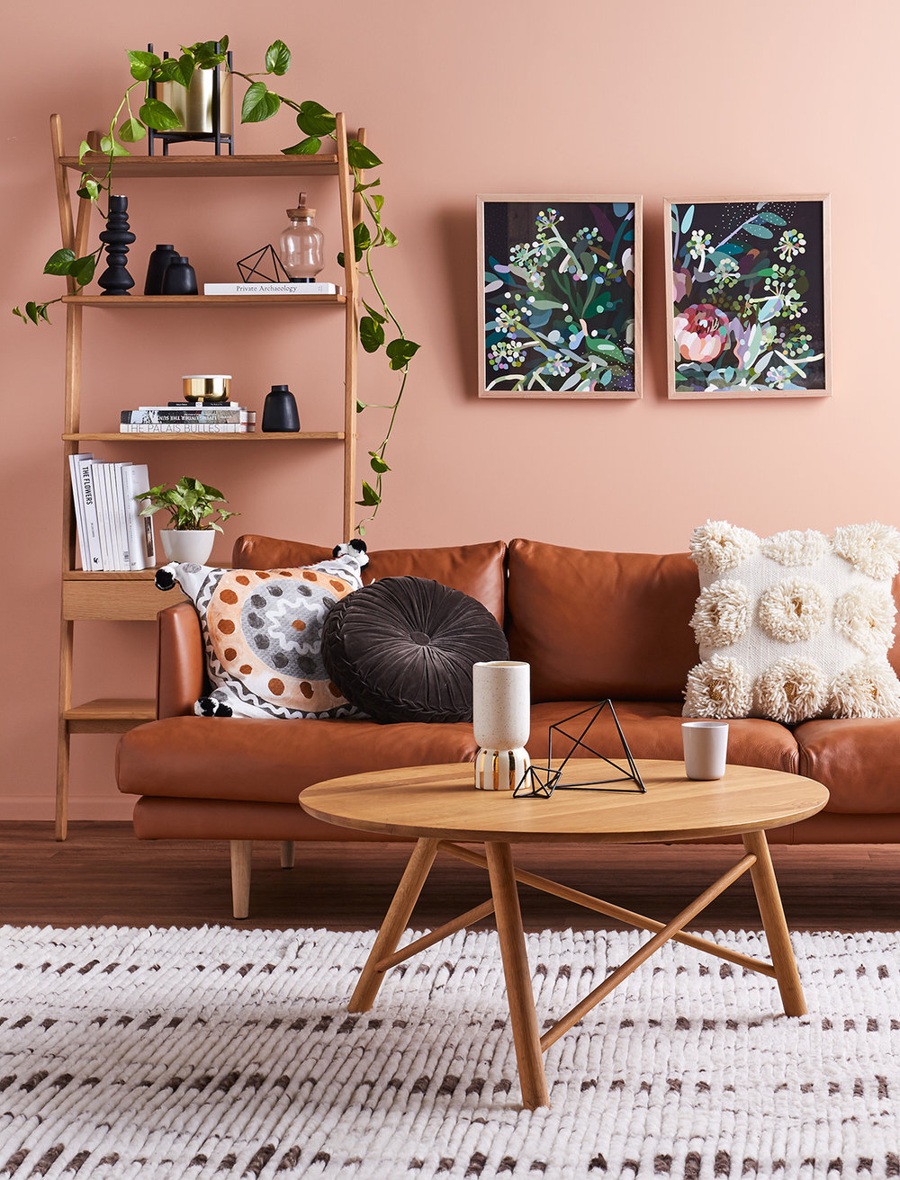 Peach or Millennial Pink? Find out the interior trends for 2018, what's going to be in and what's out!