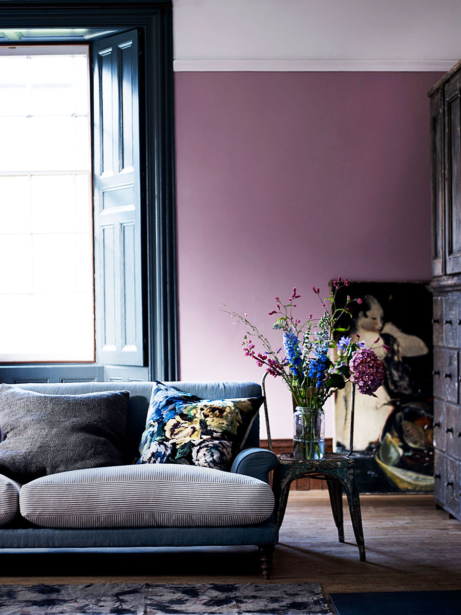 Loving lilac? You might be interested in hearing my predictions for interior trends 2018 before putting paintbrush to wall!