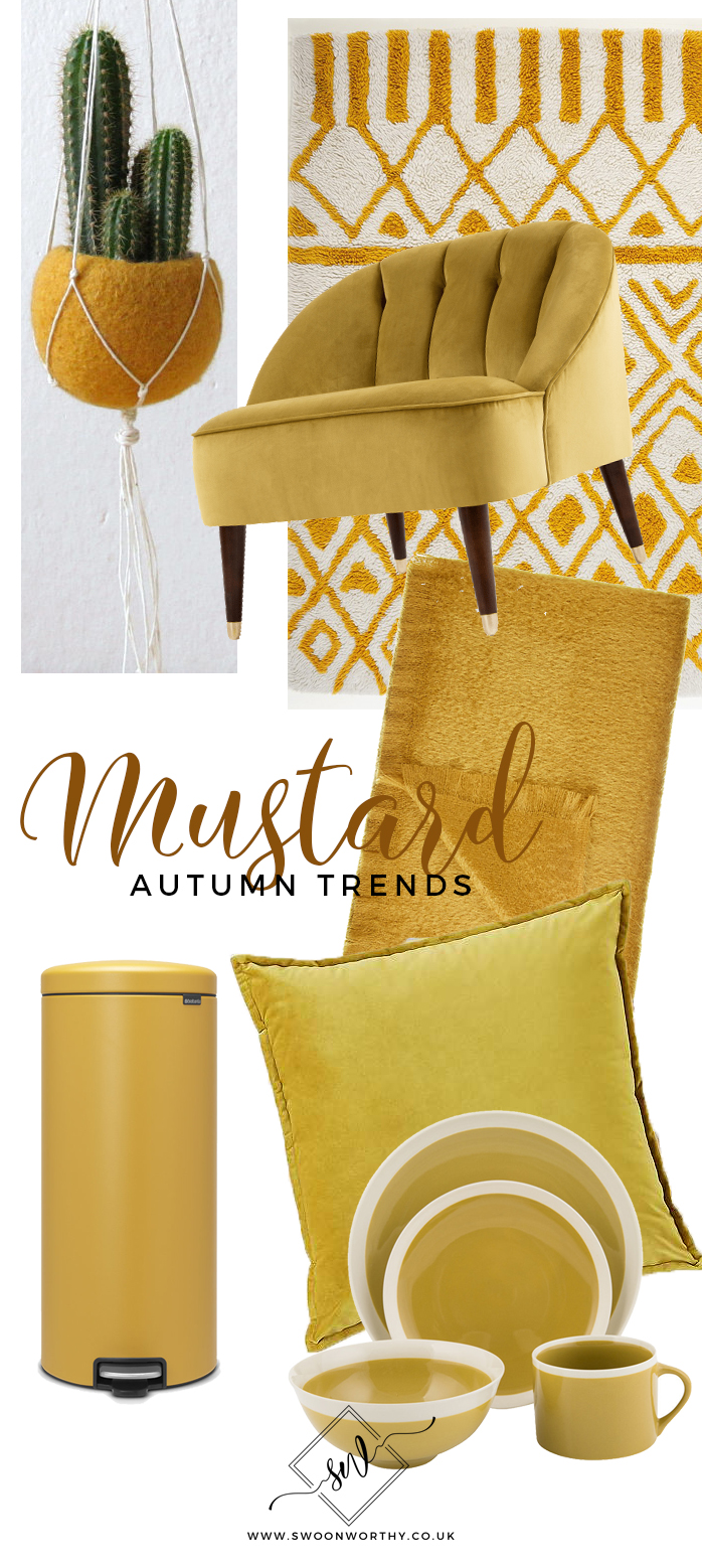 Autumn Trends Mustard Yellow Buying Guide