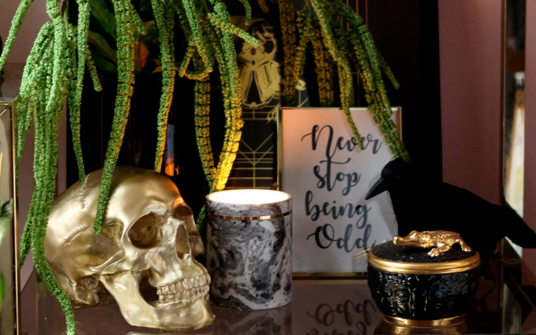 Glam Halloween Decor (You Can Use All Year Round!)