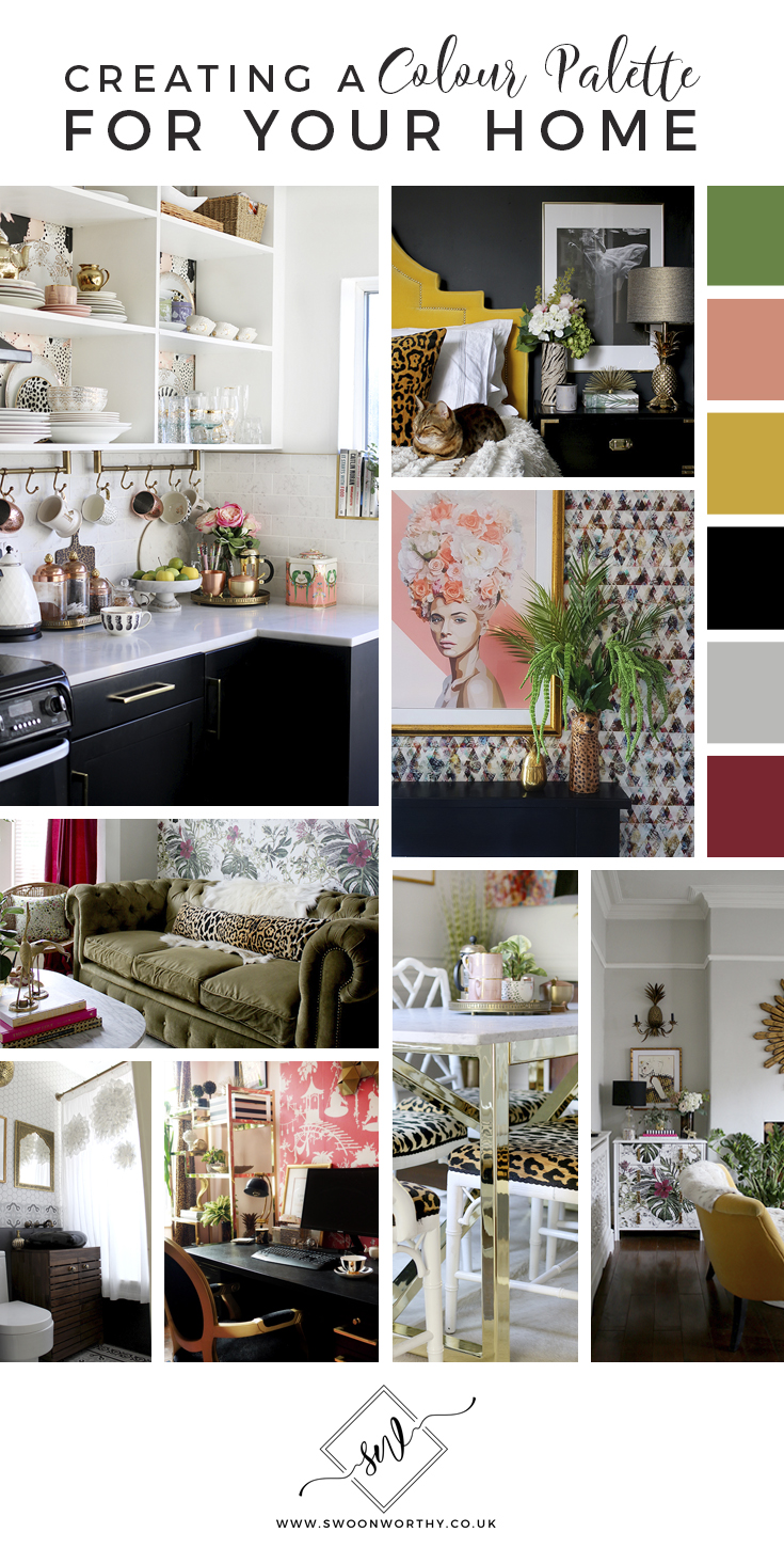 How to Create a Colour Palette for Your Home