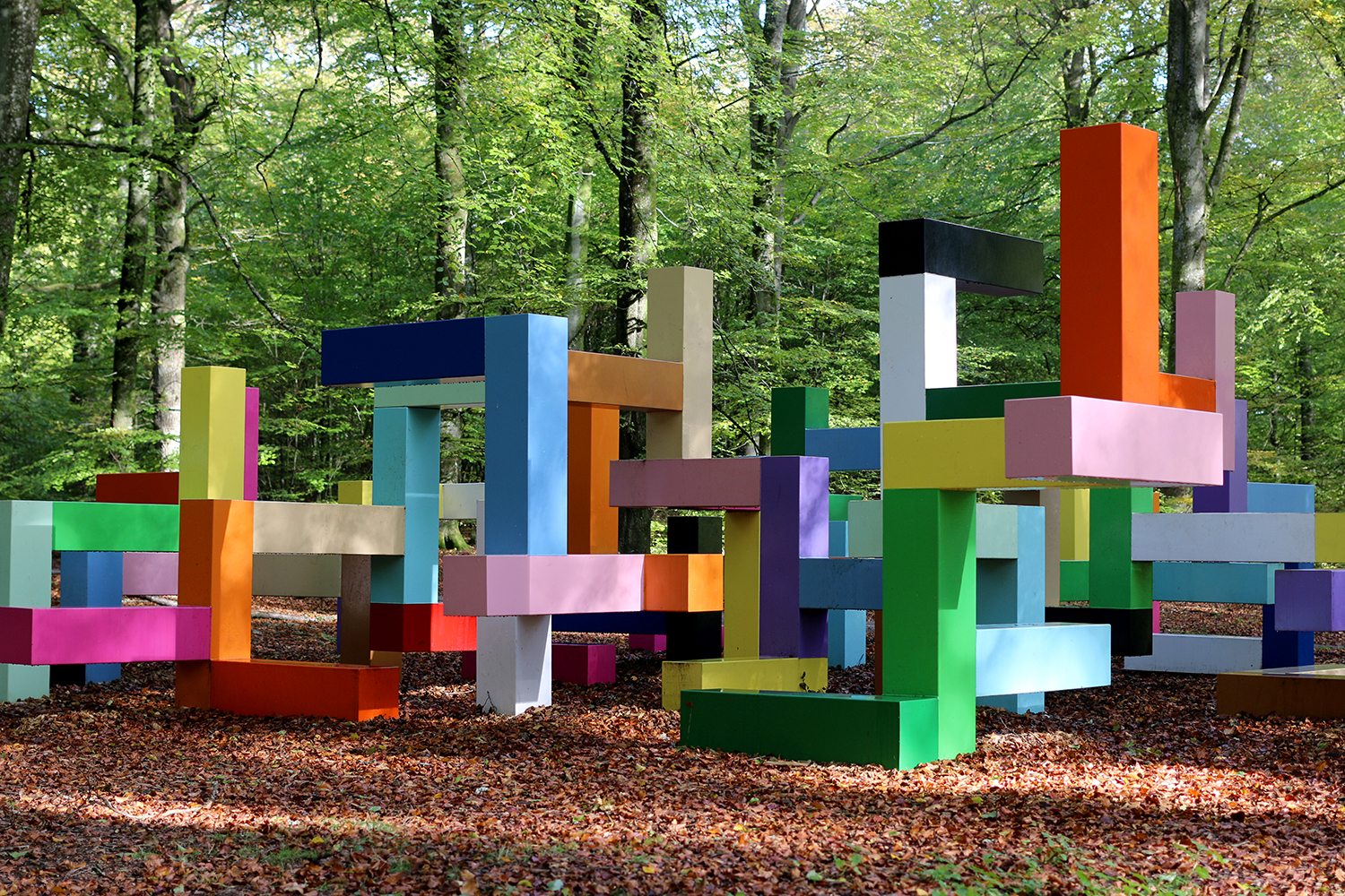 Jacob Dahlgren, Primary Structure 2011 Wanäs Sculpture Park