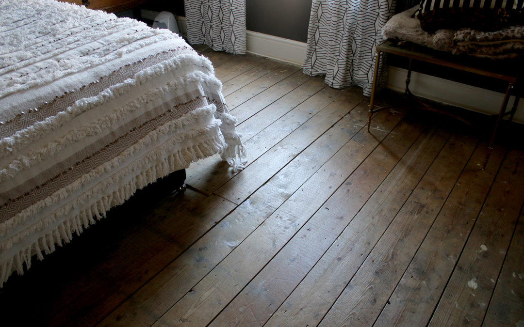 11th Hour Upgrades: Finishing the Flooring in the Master Bedroom!