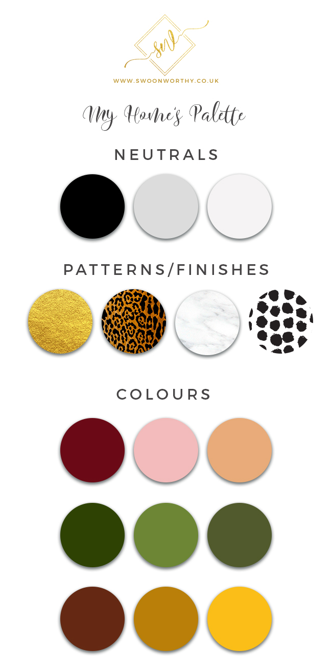 Swoon Worthy Home Palette - Creating a Colour Palette for Your Home