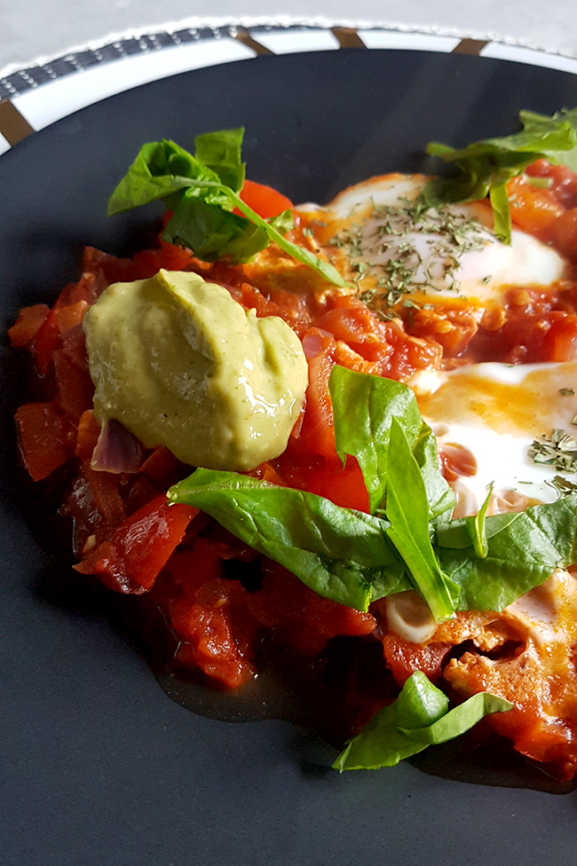 Huevos Rancheros with Guacamole Recipe 4