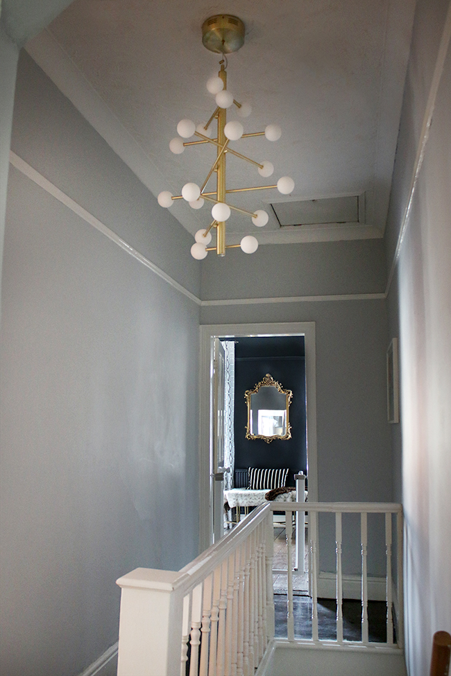 The final step before putting our home on the market was refreshing the hallway