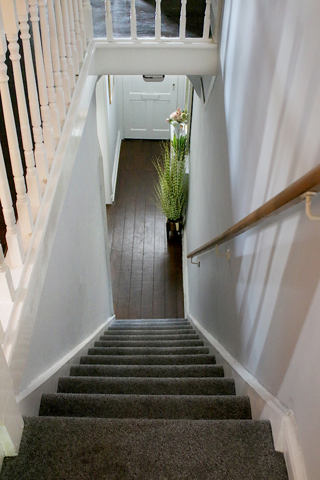 Take a look at how we refreshed our Edwardian hallway ready for sale