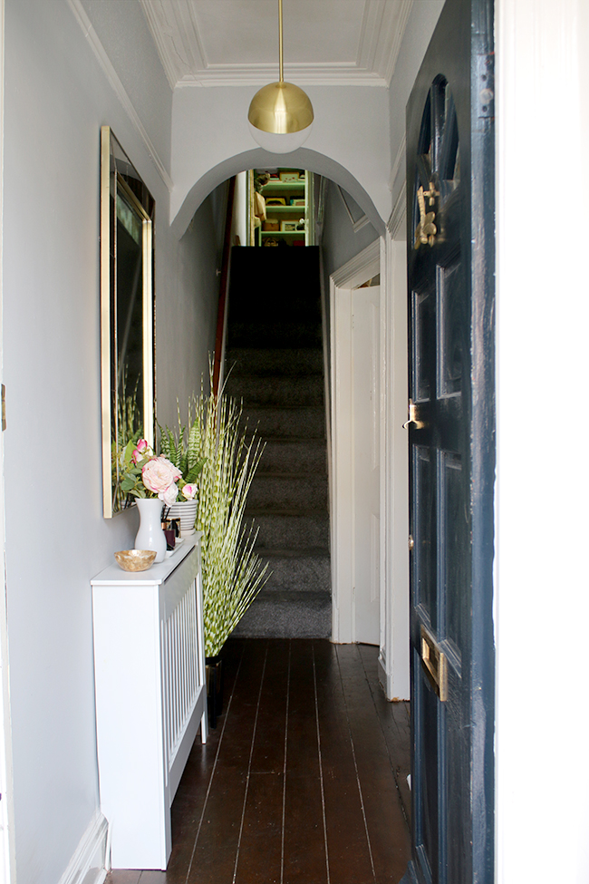 Take a look at how we've refreshed our Edwardian hallway ready to put our home on the market!