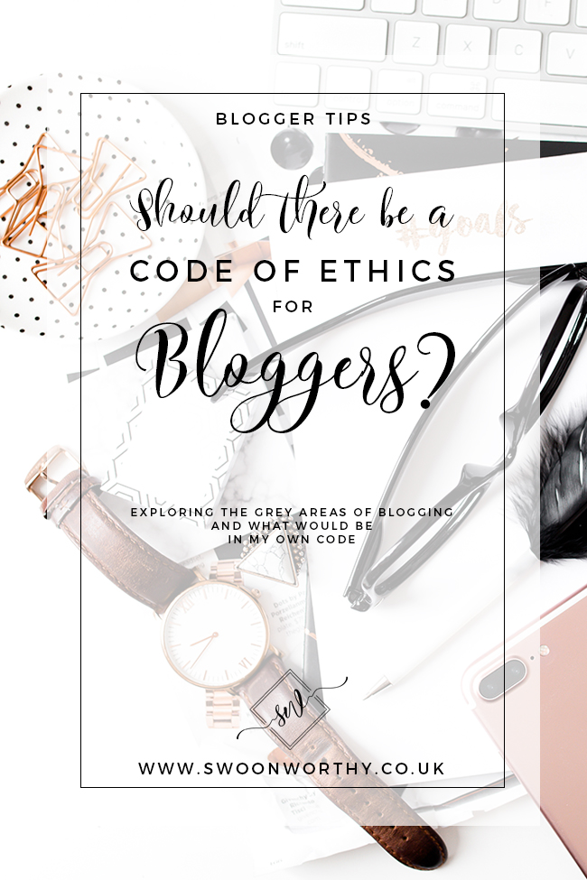 Should There Be a Code of Ethics for Bloggers