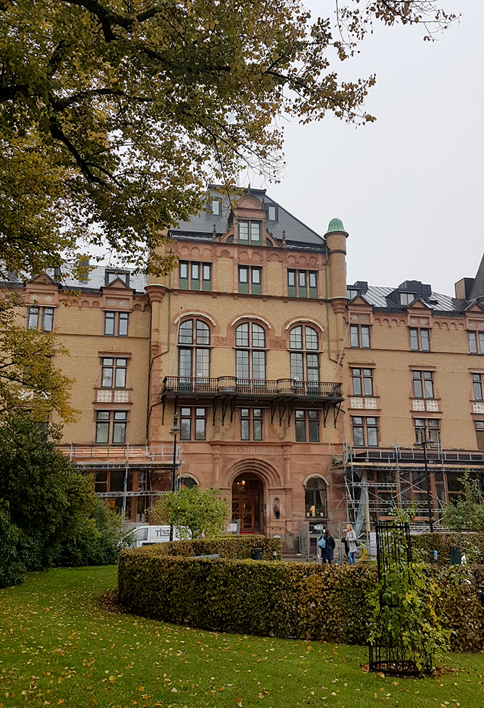 Grand Hotel Lund Sweden outside
