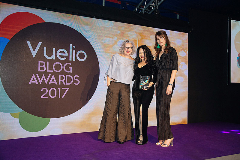 Vuelio-Blog-Awards-The-Event- Kimberly Swoon Worthy Winner Best DIY and Interior Design Blog