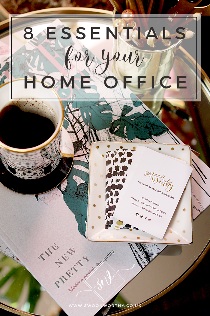 Looking to create a more inspirational working space within your home? Take a look at the 8 things every home office needs!