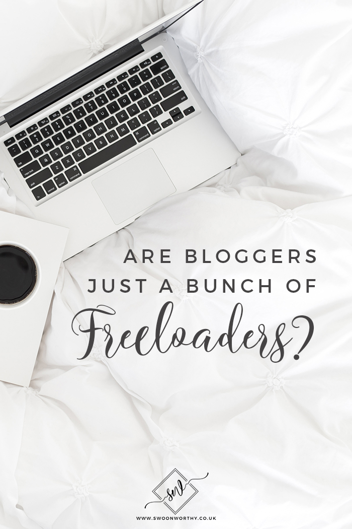 Are Bloggers Just a Bunch of Freeloaders?