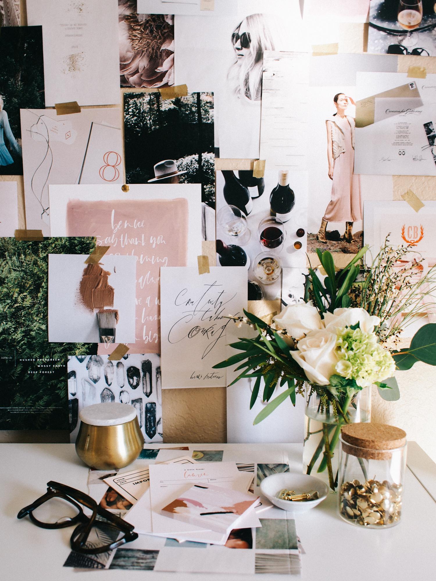 Home+office+vignette+_+A+Fabulous+Fete