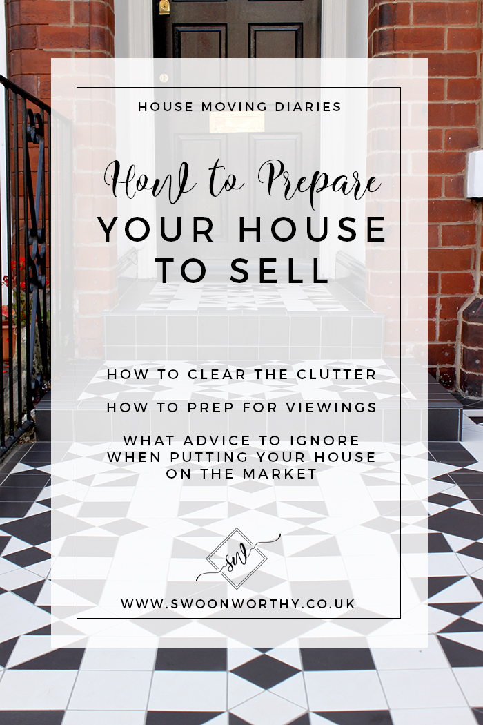 Putting your home on the market? Check out my tips on how to prepare to sell your house including clearing the clutter and prepping for viewings!