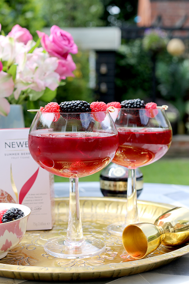 Summer Cocktails with Amara and Newby Teas