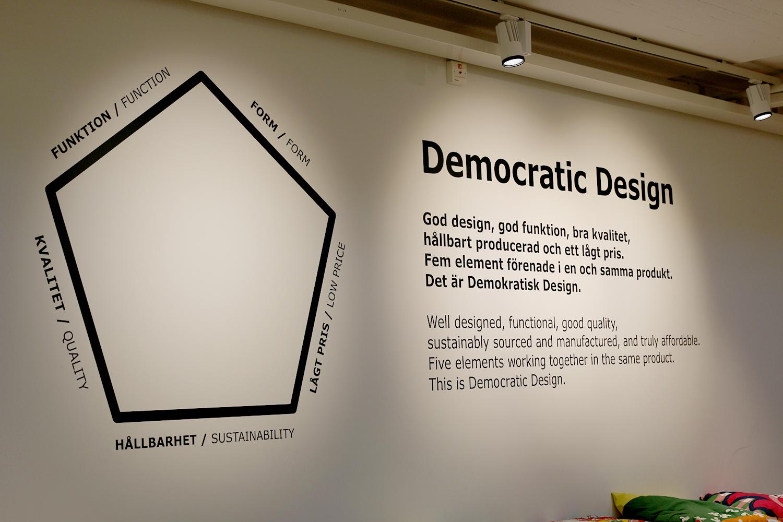 Ikea democratic design principals