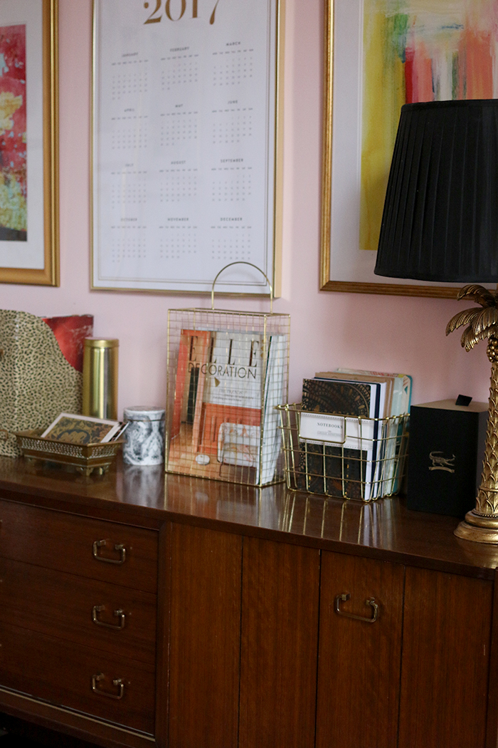 office sideboard styling