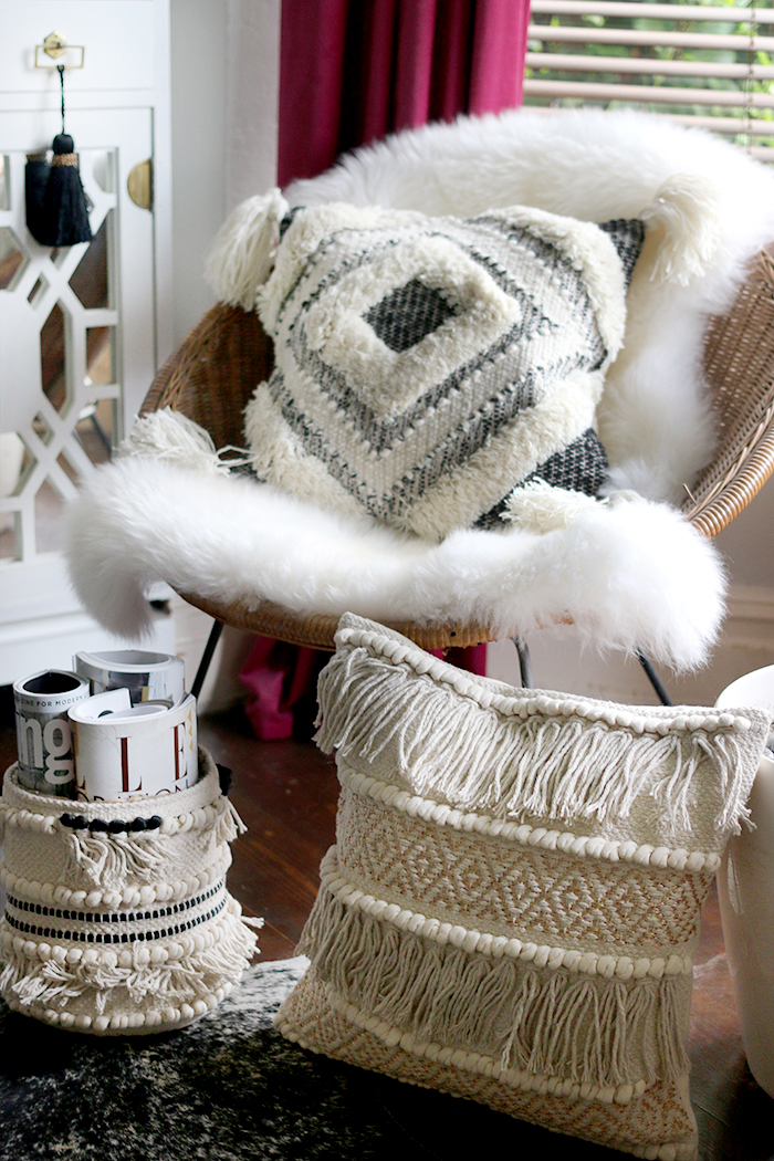Pimkie boho cushions and accessories from the new ASOS homeware collection