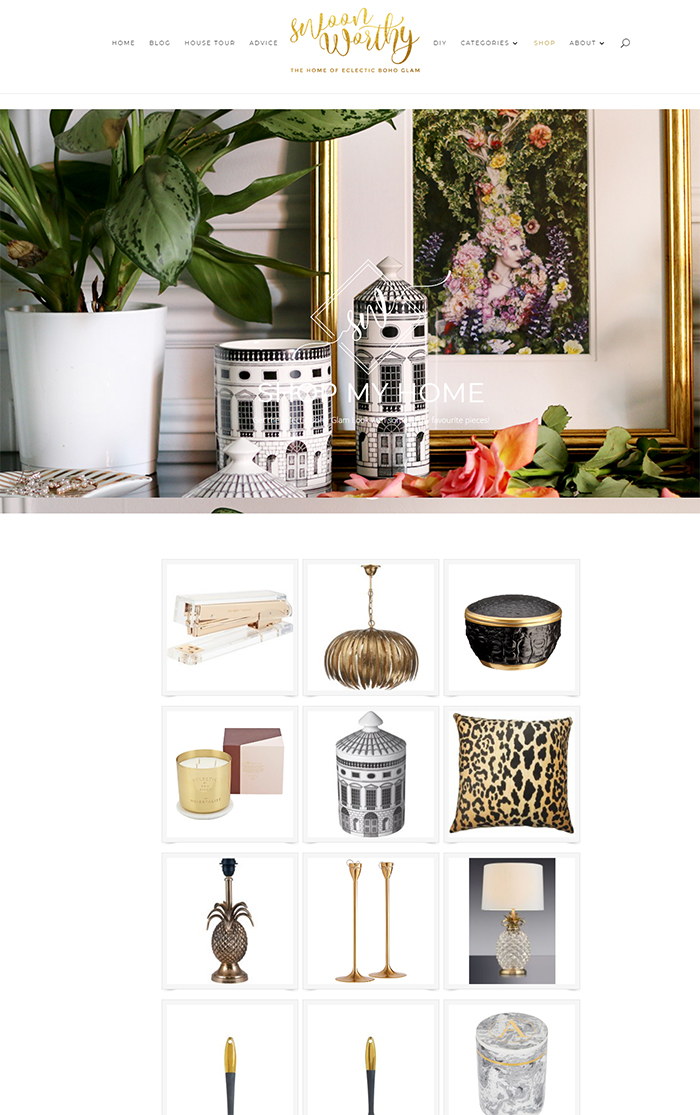 Shop My Home Swoon Worthy