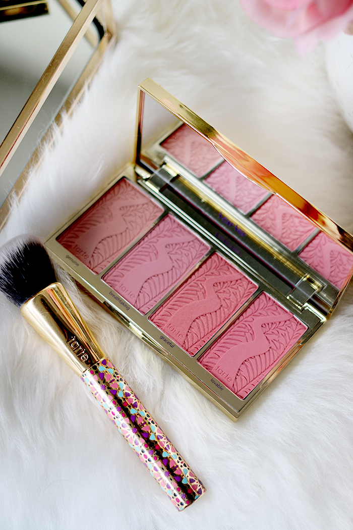 The gorgeous Blush Bliss Palette is one of my must-try products from Tarte Cosmetics