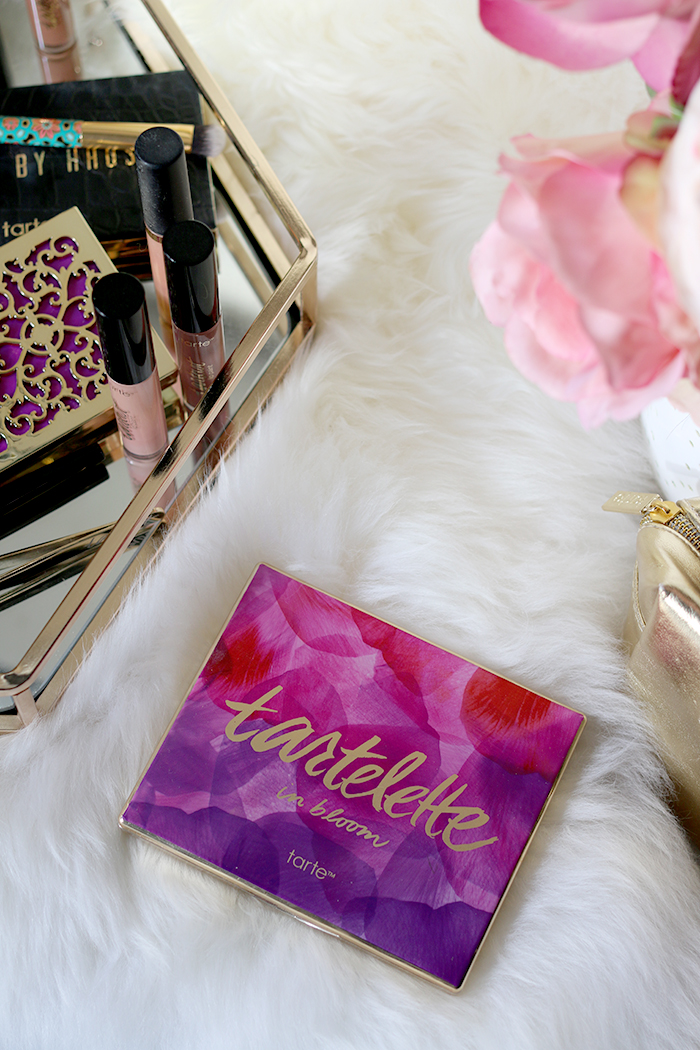 The Tartlette in Bloom Palette is one of my must-try products from Tarte Cosmetics.