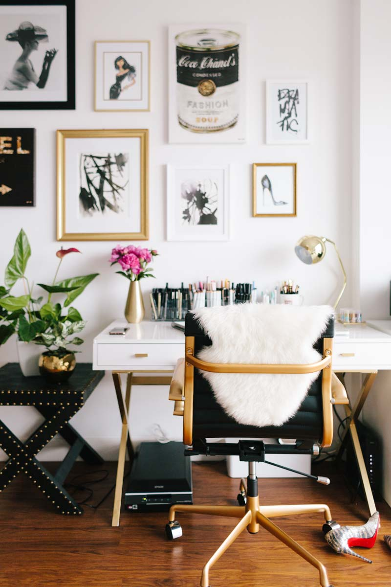 Updating your work space? Check out the 8 things every home office needs including some statement artwork