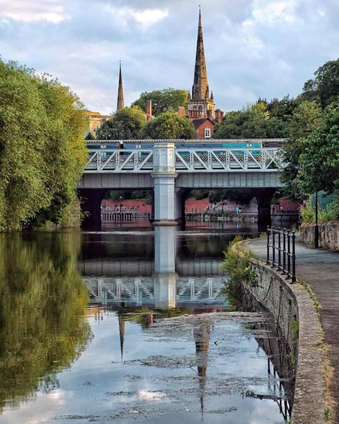 River Severn Shrewsbury