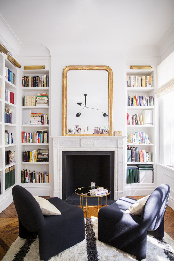 Ali Cayne townhouse library