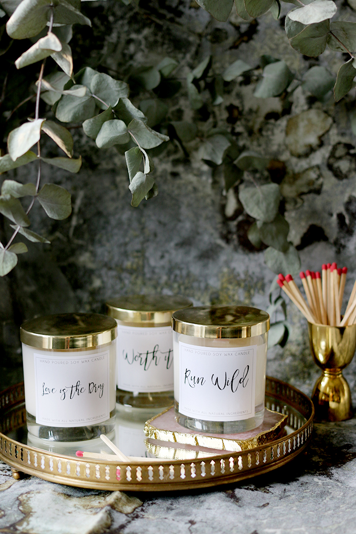 DIY Wood Wick Candles Made from Soy Wax and Essential Oils with Free Printable Labels (4)