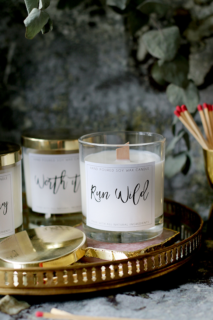 DIY Wood Wick Candles Made from Soy Wax and Essential Oils with Free Printable Labels (5)