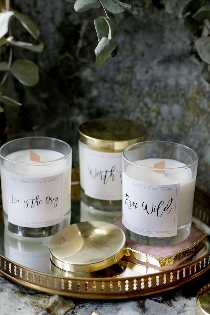 DIY Wood Wick Candles Made from Soy Wax and Essential Oils with Free Printable Labels (6)