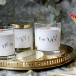 DIY Wood Wick Candles with Soy Wax, Essential Oils and Free Printable Labels!