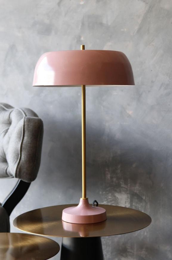 Ventura Lamp Dusky Pink from Rockett St George